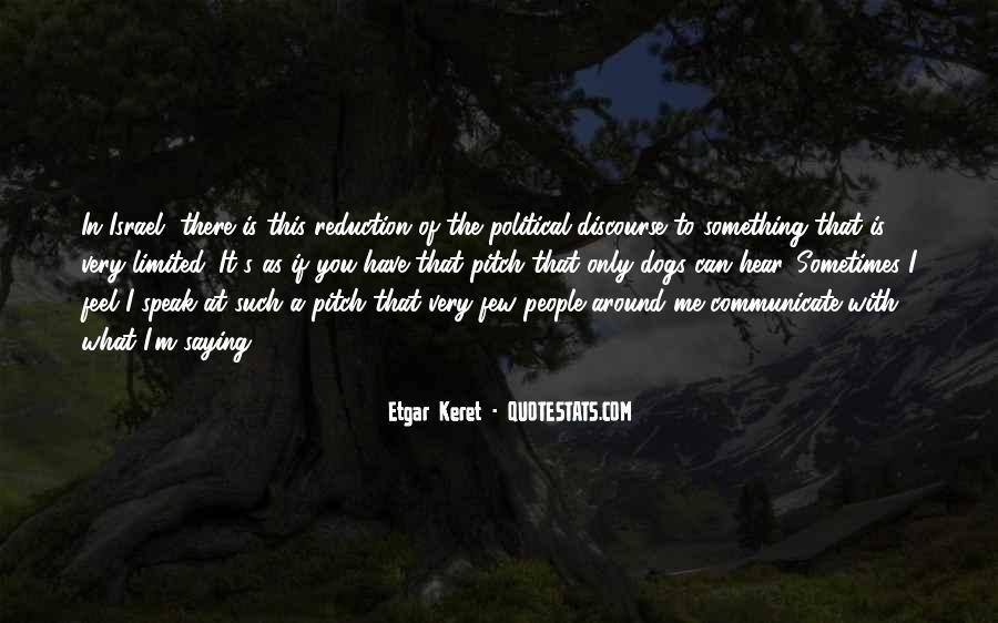 Etgar Keret Quotes #1577615