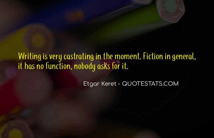 Etgar Keret Quotes #65868