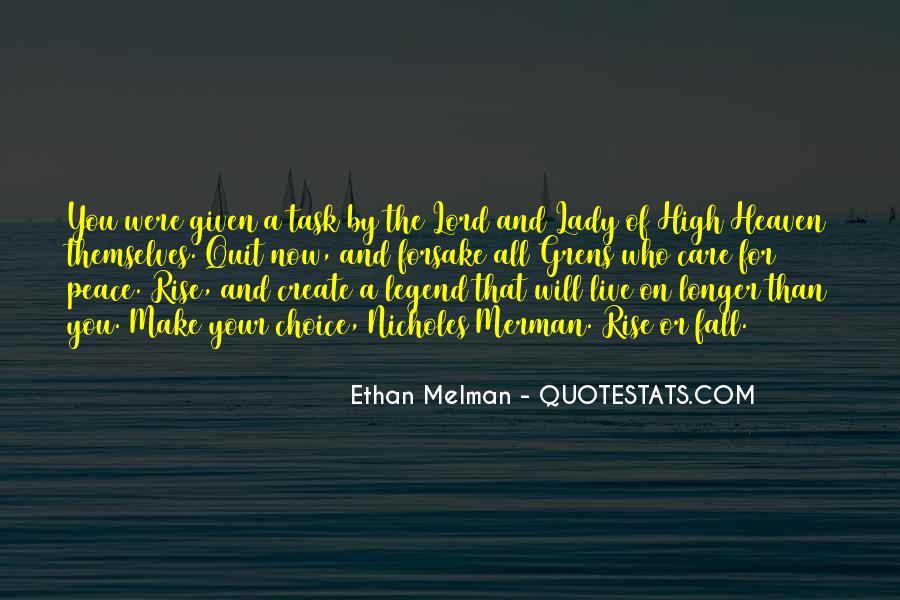 Ethan Melman Quotes #381077