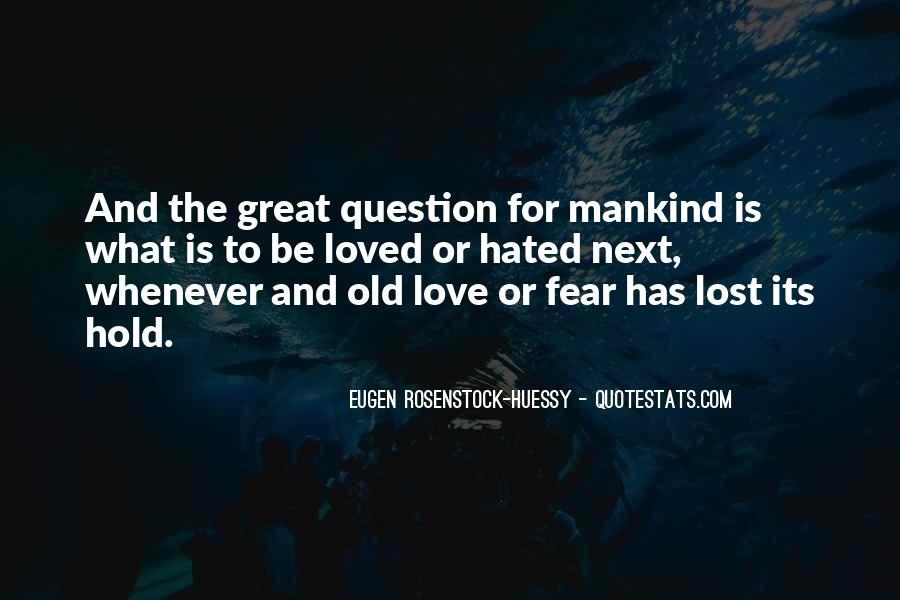 Eugen Rosenstock-Huessy Quotes #192483