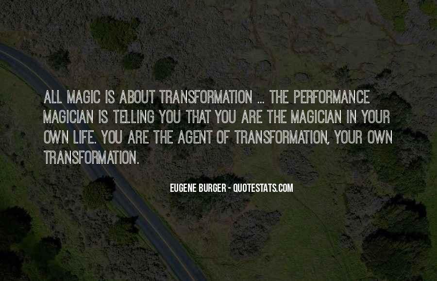 Eugene Burger Quotes #1873139