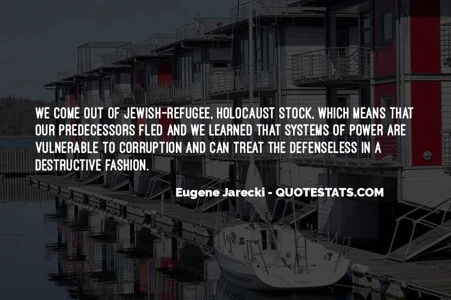 Eugene Jarecki Quotes #1098057