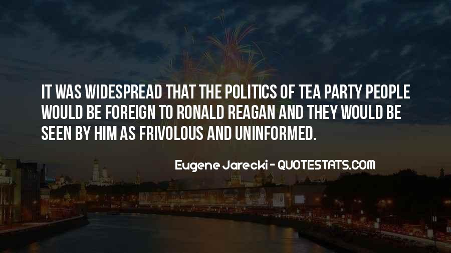 Eugene Jarecki Quotes #1196541