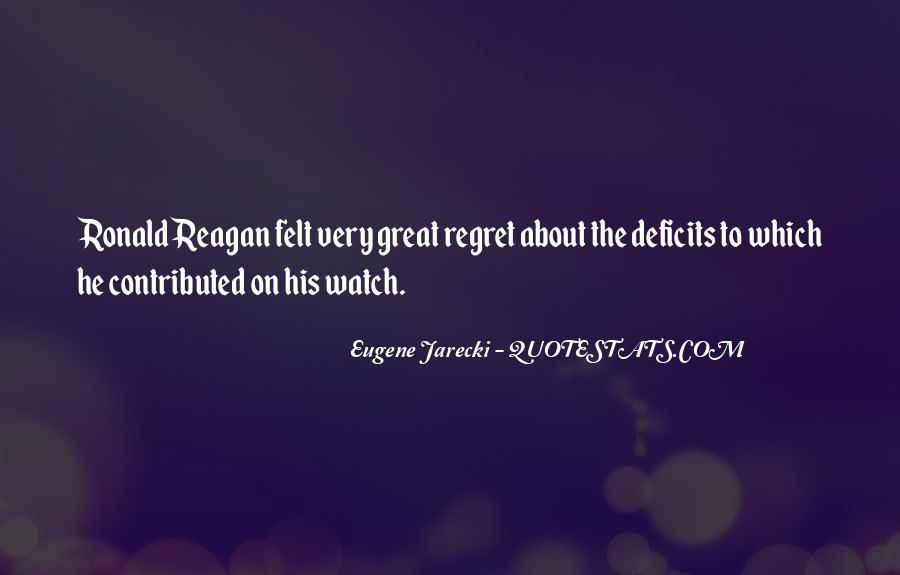 Eugene Jarecki Quotes #399867
