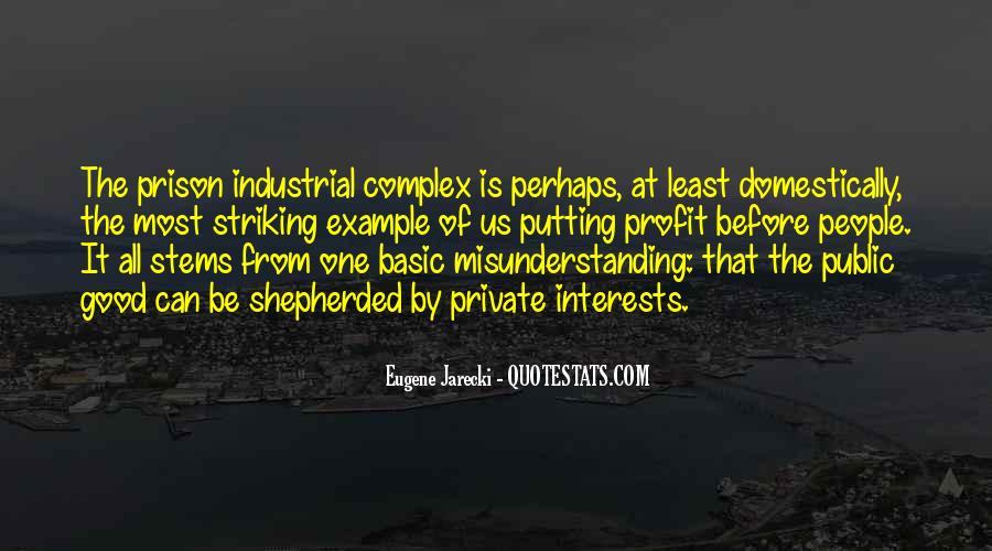 Eugene Jarecki Quotes #901352