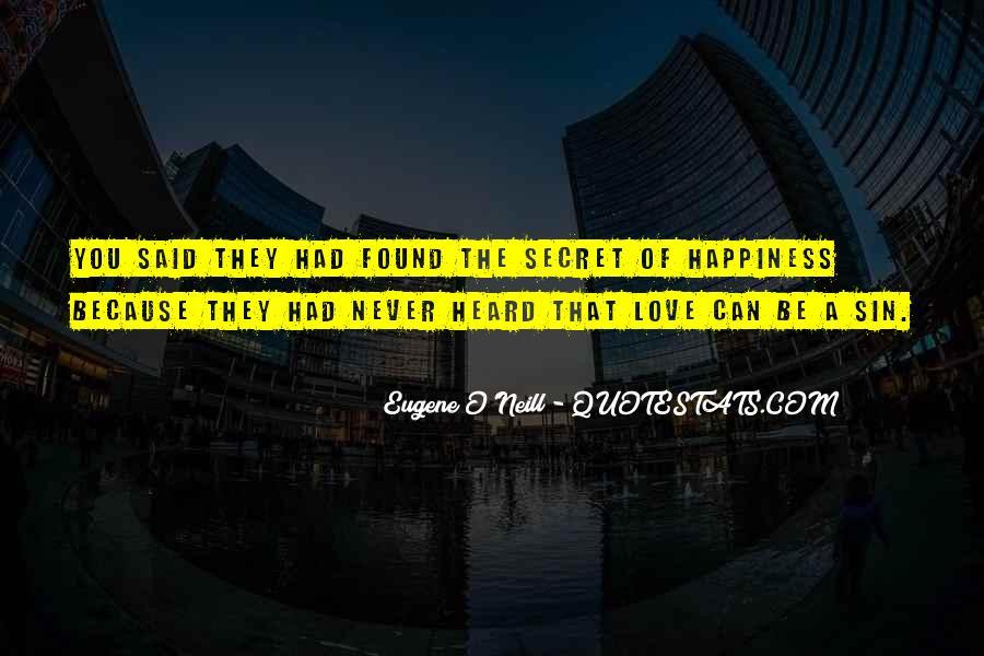 Eugene O'Neill Quotes #855743