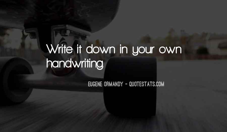 Eugene Ormandy Quotes #1495534