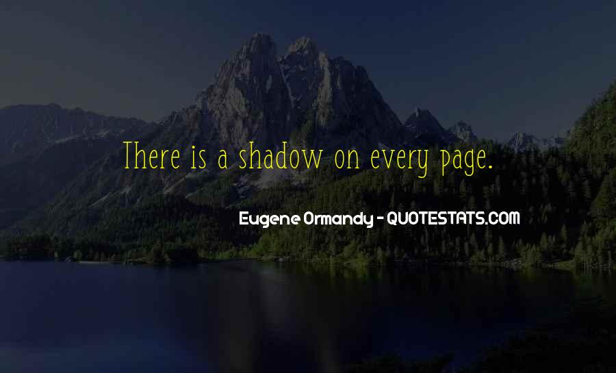 Eugene Ormandy Quotes #339193