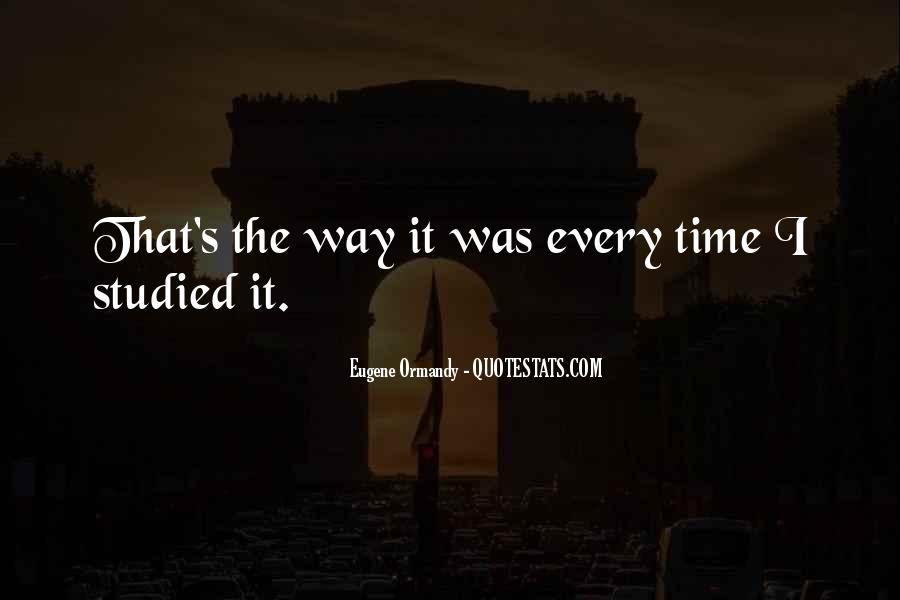 Eugene Ormandy Quotes #357268