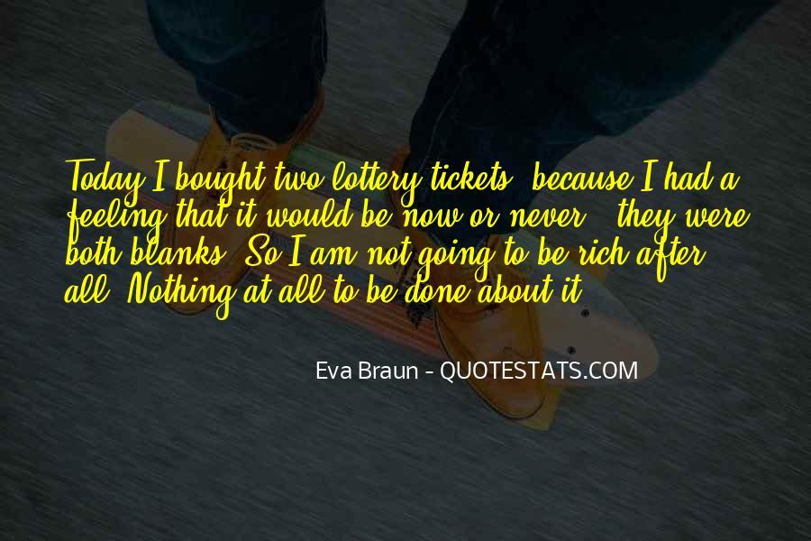 Eva Braun Quotes #680449