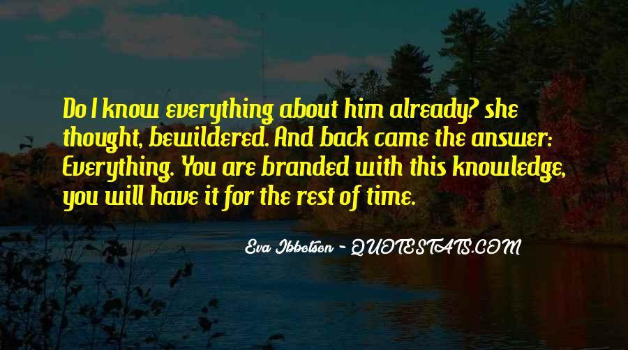 Eva Ibbotson Quotes #1105963