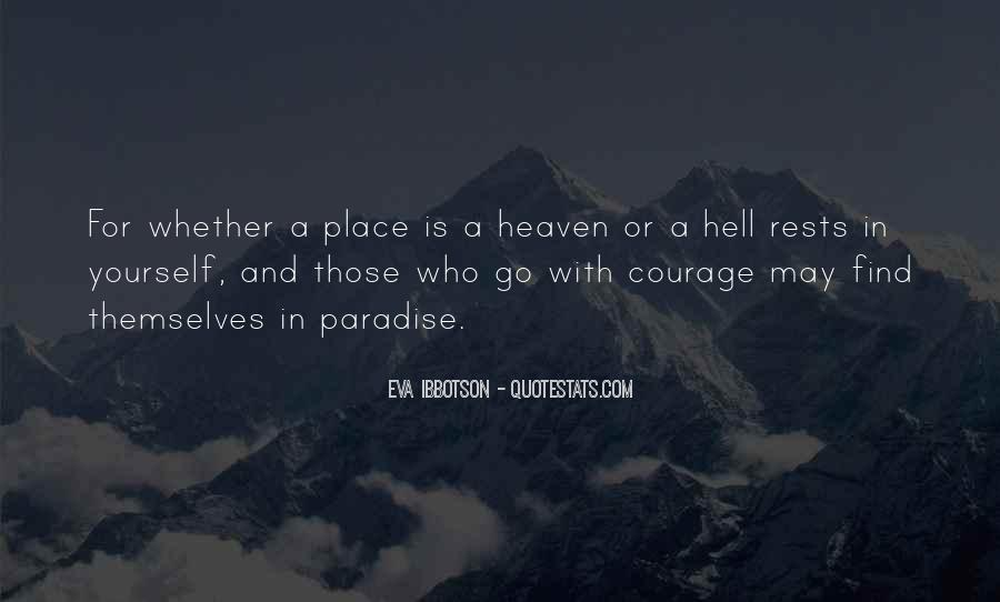 Eva Ibbotson Quotes #1494324