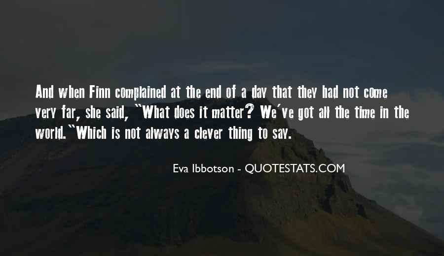 Eva Ibbotson Quotes #242744