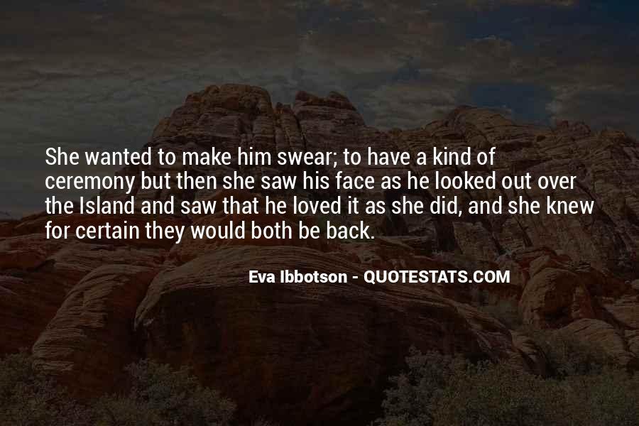 Eva Ibbotson Quotes #438162