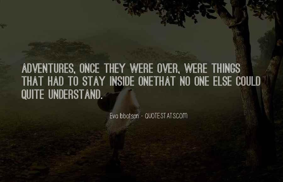 Eva Ibbotson Quotes #582214