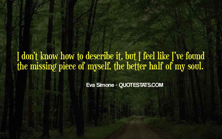 Eva Simone Quotes #1034931