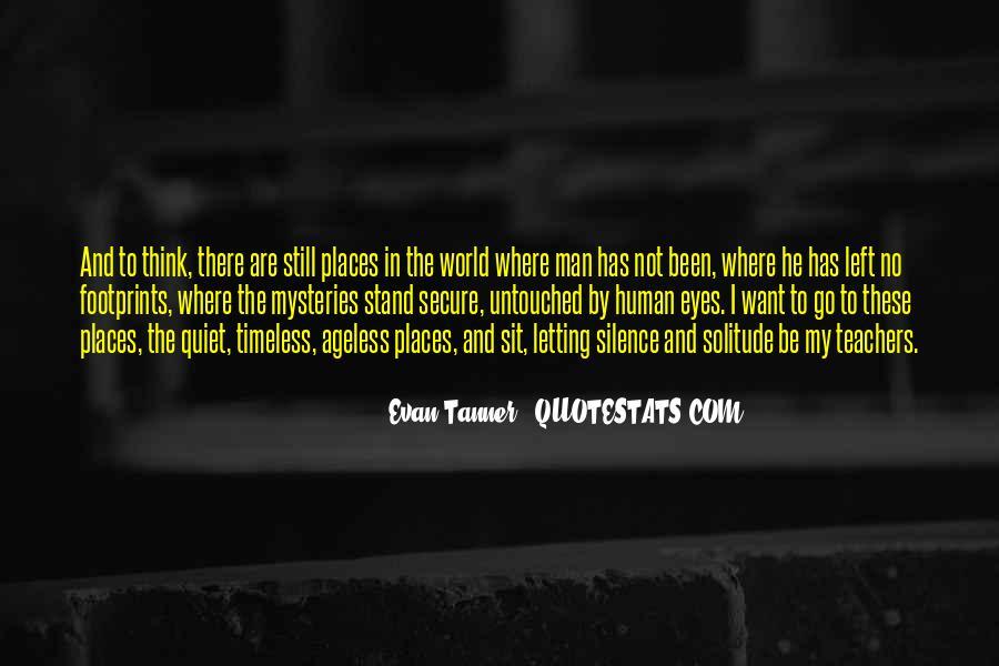 Evan Tanner Quotes #1397751
