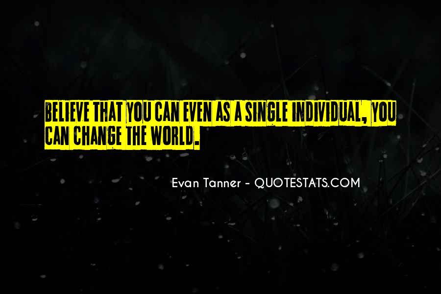 Evan Tanner Quotes #1398435