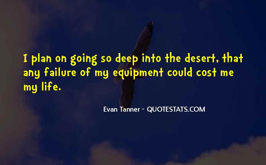Evan Tanner Quotes #1445143