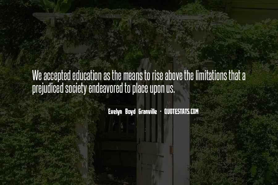 Evelyn Boyd Granville Quotes #1629523
