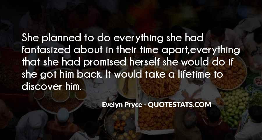 Evelyn Pryce Quotes #1107289