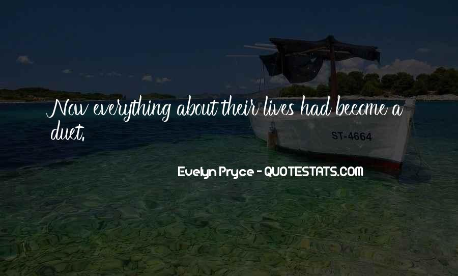 Evelyn Pryce Quotes #442641