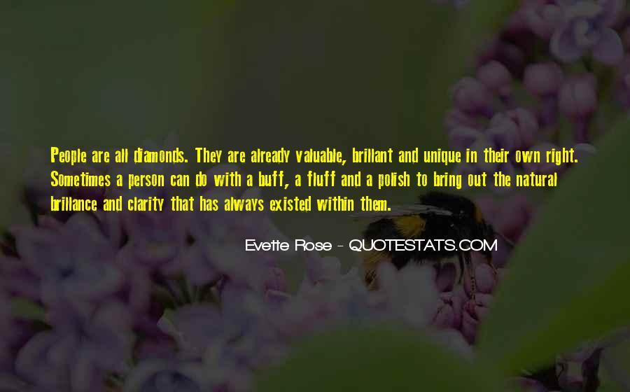 Evette Rose Quotes #13739
