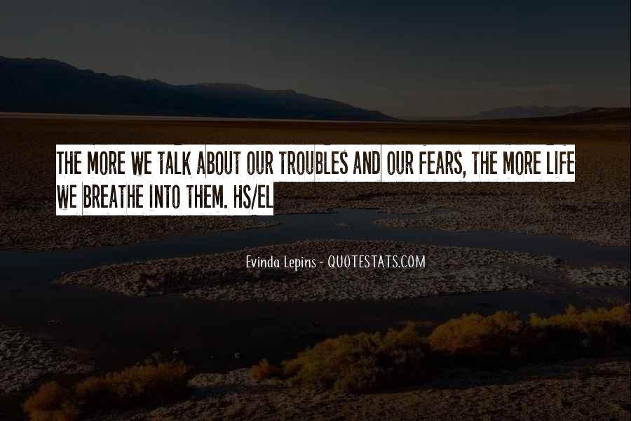 Evinda Lepins Quotes #1017943