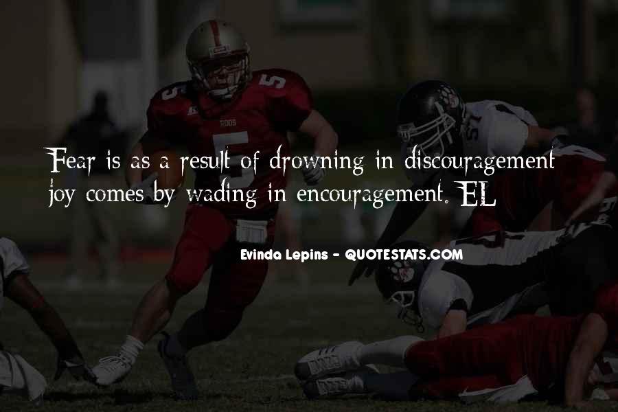 Evinda Lepins Quotes #1134371
