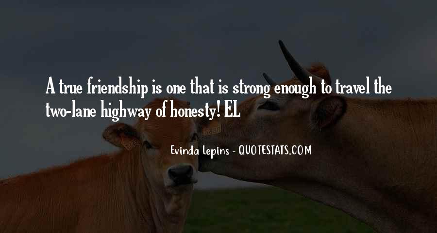 Evinda Lepins Quotes #1154441