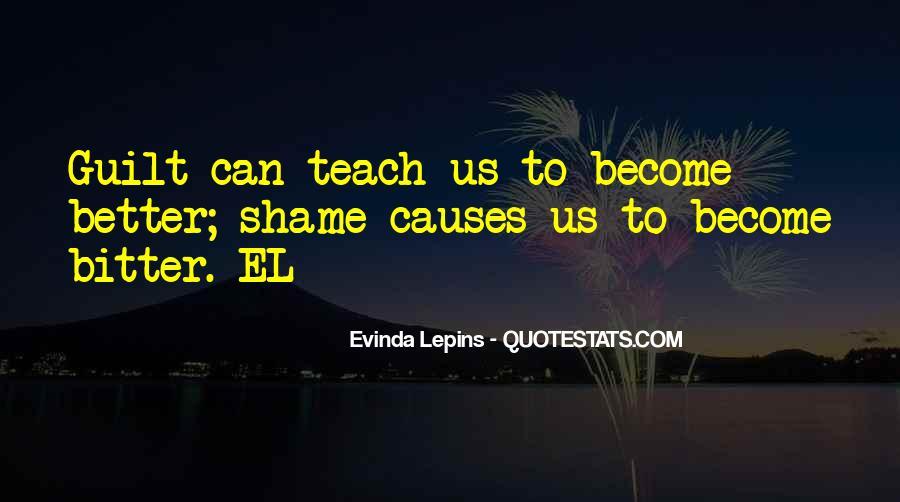 Evinda Lepins Quotes #1185944