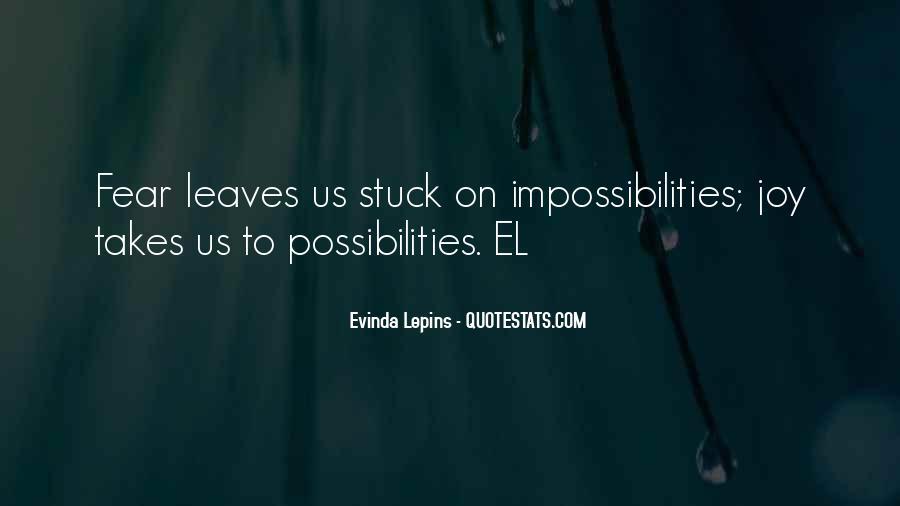 Evinda Lepins Quotes #1224517