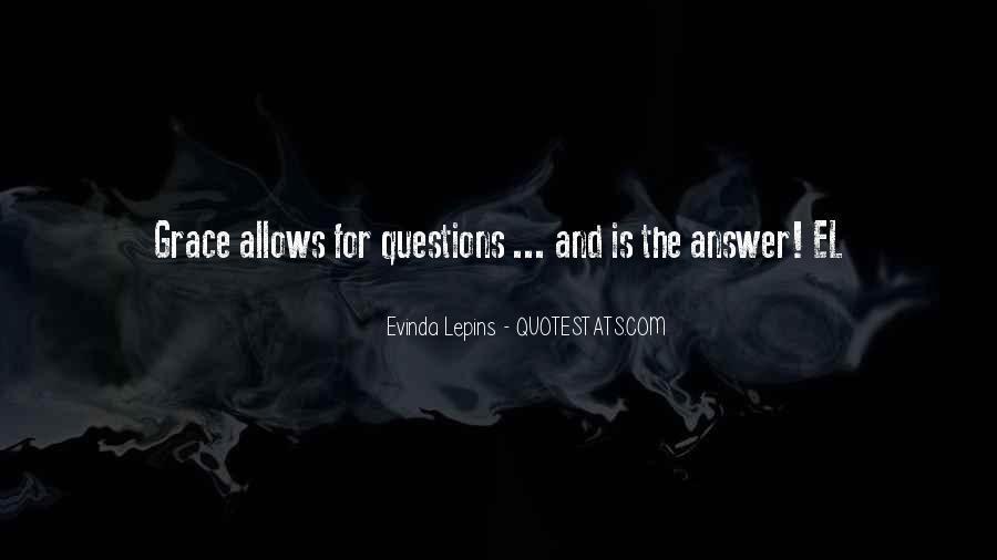 Evinda Lepins Quotes #1312147