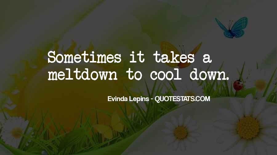 Evinda Lepins Quotes #1338985