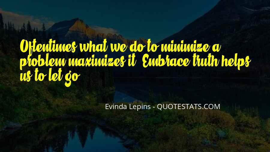 Evinda Lepins Quotes #1354890