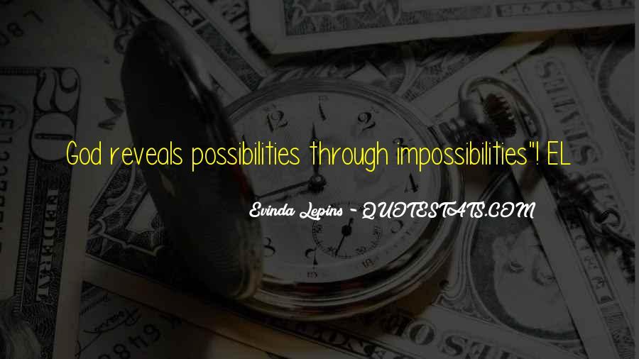 Evinda Lepins Quotes #1355368