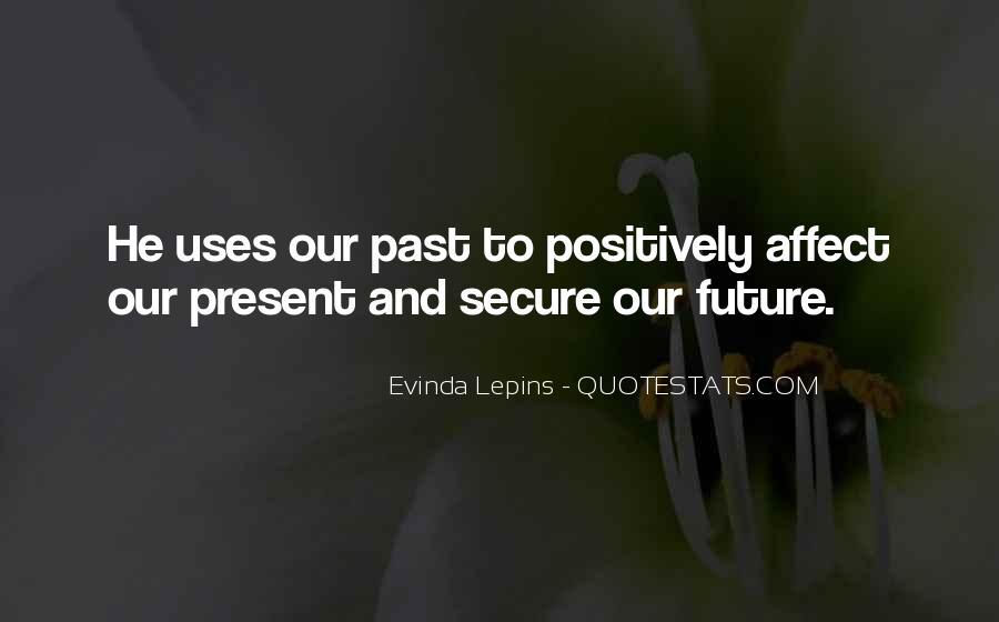 Evinda Lepins Quotes #1498067
