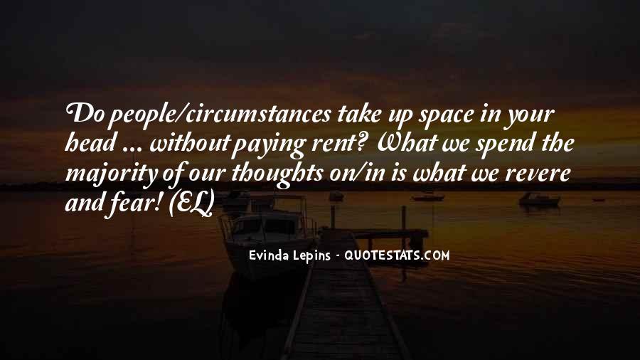 Evinda Lepins Quotes #154649