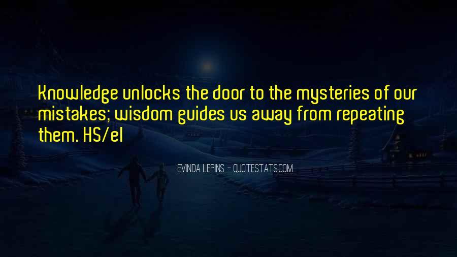 Evinda Lepins Quotes #1733776