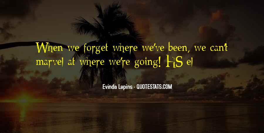 Evinda Lepins Quotes #1818476
