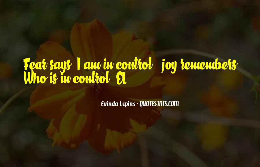 Evinda Lepins Quotes #1829462
