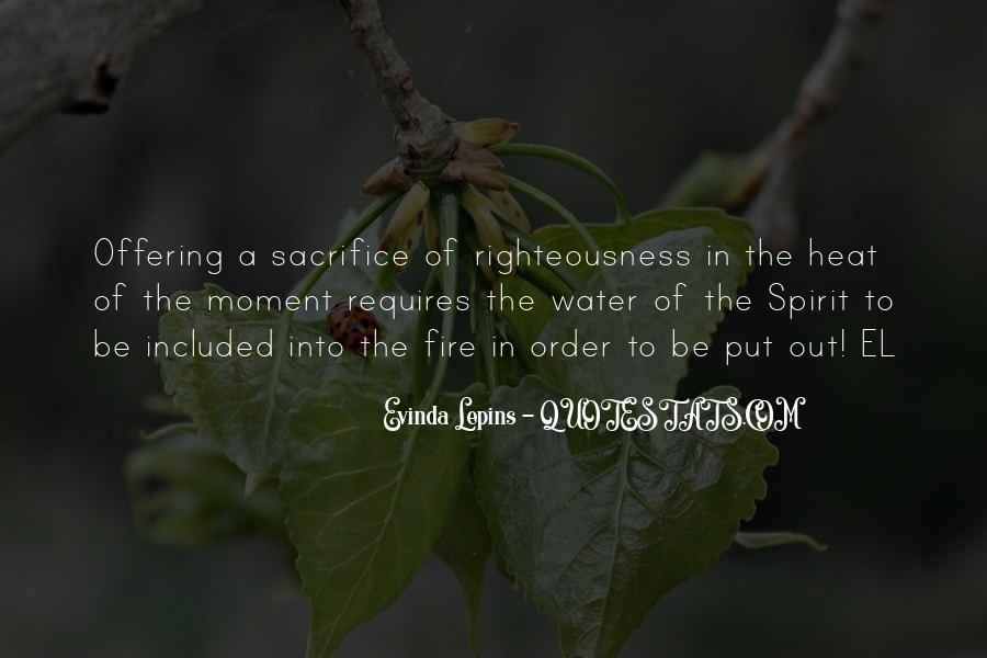 Evinda Lepins Quotes #255289