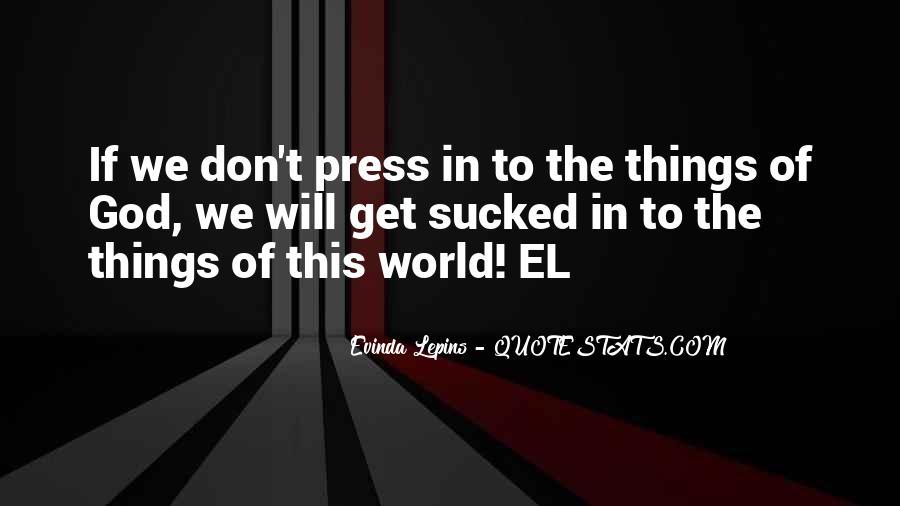 Evinda Lepins Quotes #359361