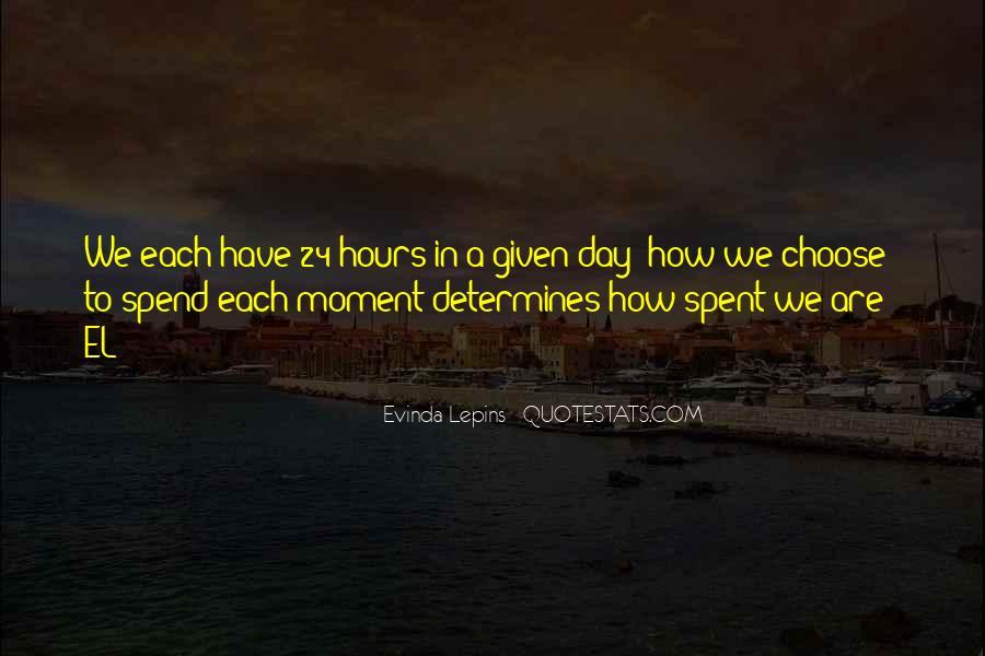 Evinda Lepins Quotes #462560