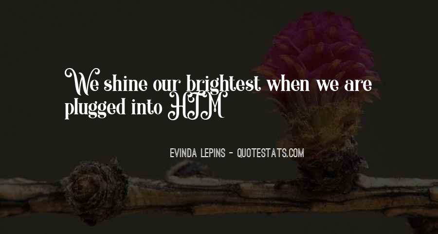 Evinda Lepins Quotes #695467