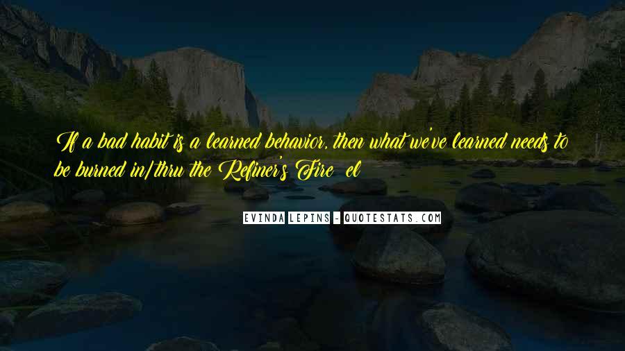 Evinda Lepins Quotes #701080