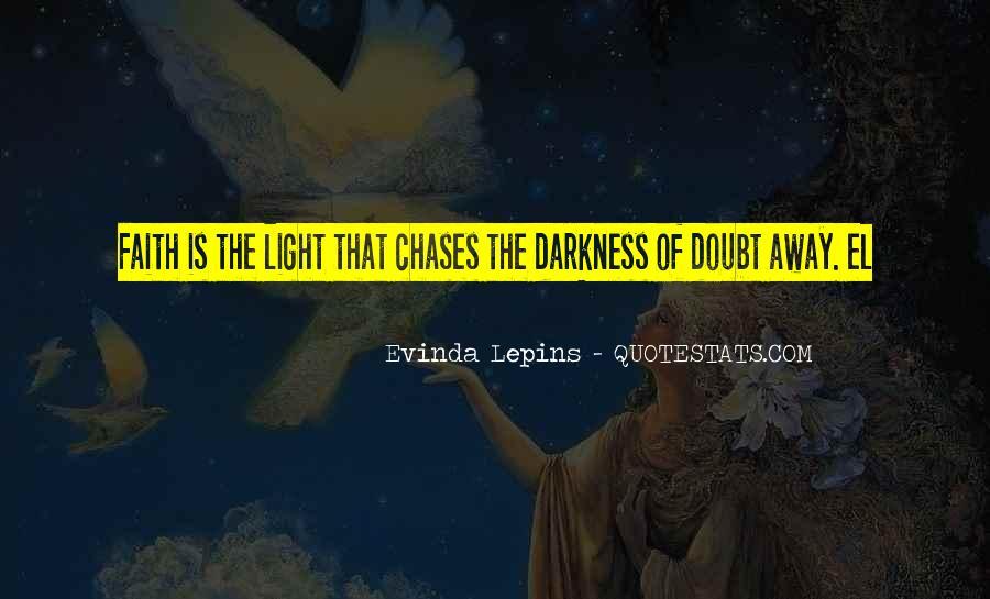 Evinda Lepins Quotes #706626