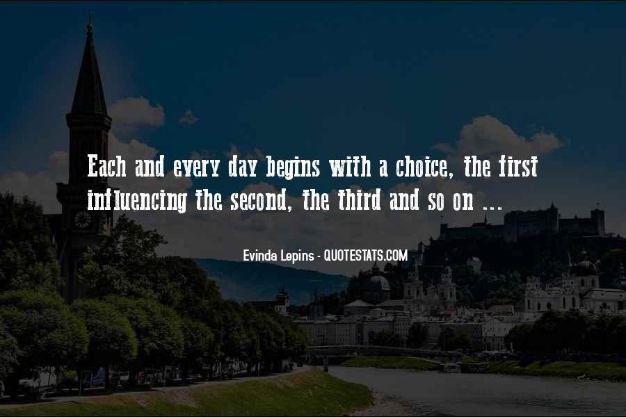 Evinda Lepins Quotes #717543