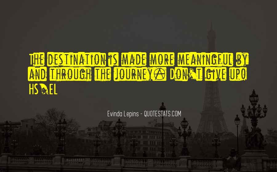 Evinda Lepins Quotes #893156