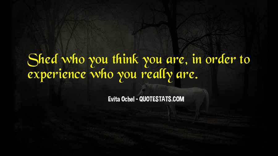 Evita Ochel Quotes #19075